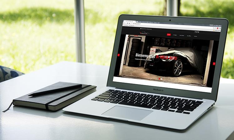 Site web DR MECA AUTO
