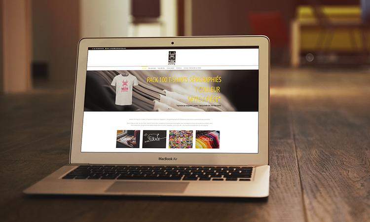 Site web MOLTENI PRINTING