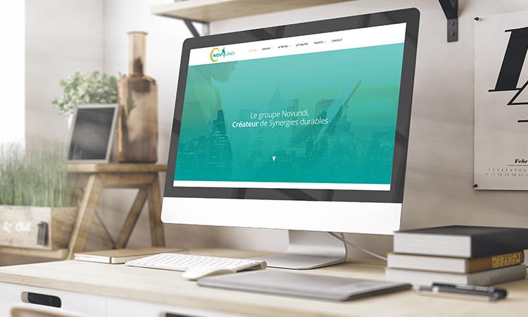 Site web NOVUNDI
